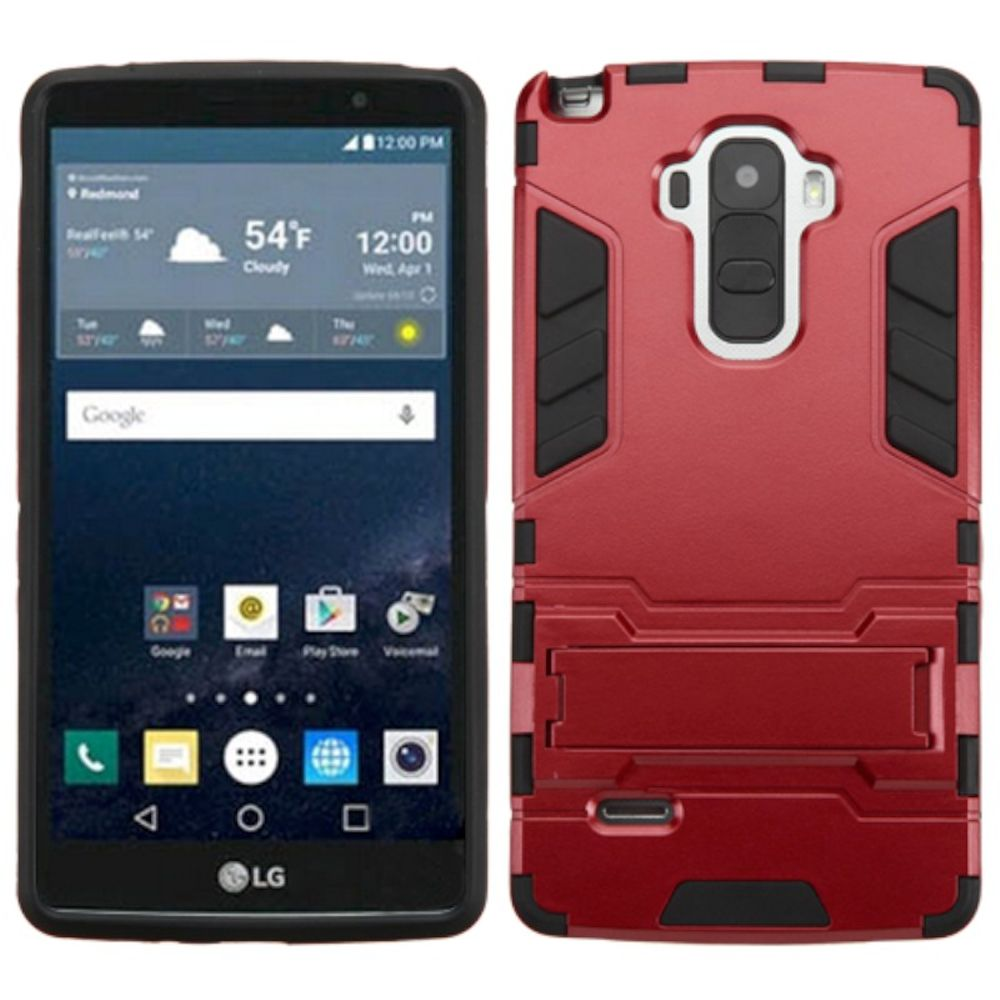 LG G Stylo Phone Case, LG G Stylo Case, by Insten Hard Dual Layer Hybrid Case with Stand For LG G Stylo case cover - image 3 de 3