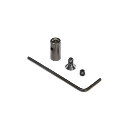Team Losi Racing Tuned Pipe Mount and Hardware: 8IGHT-X, TLR241048