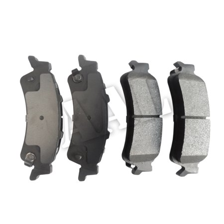 AAL Premium Ceramic Rear BRAKE PADS For 2003 2004 CHEVROLET SILVERADO 1500 (Complete set 4 pieces)