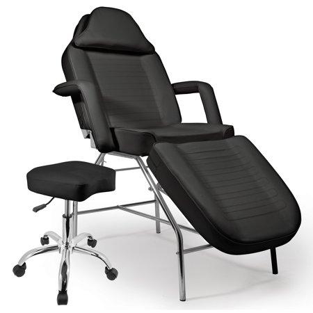 Saloniture professional multi purpose black salon chair for Colored salon chairs