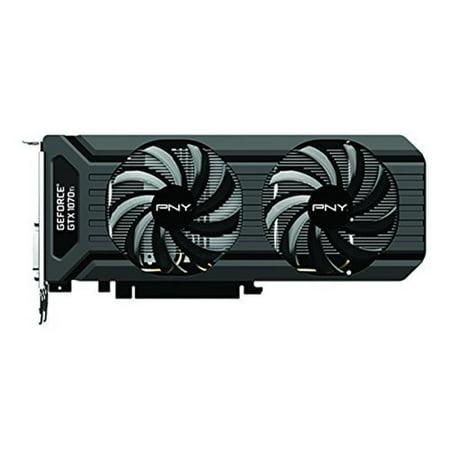 PNY GeForce GTX 1070 Ti Dual Fan 8GB GDDR5 Graphics (Best Driver For Gtx 560 Ti)