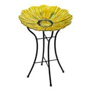 Evergreen Enterprises, Inc Golden Flower Birdbath