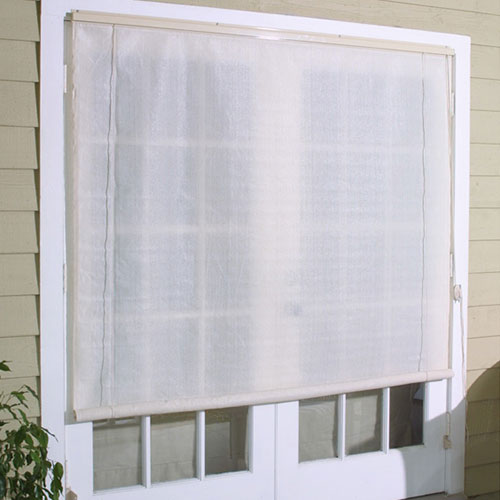 8 X 6 Roll Up Exterior Window Shades Walmart Com