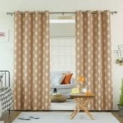 Best Home Fashion Arrow Grommet Top Room Darkening Curtain
