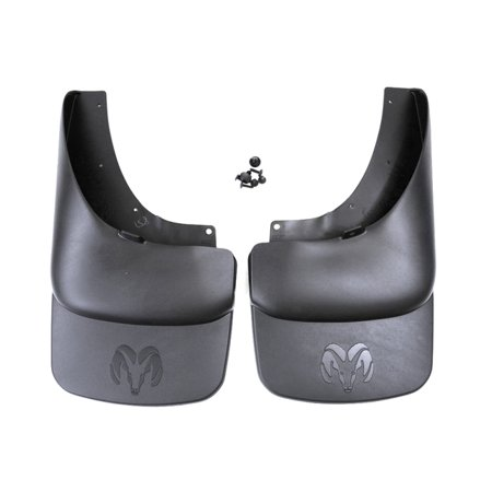Deluxe Splash Guards - Genuine OE Mopar Deluxe Molded Splash Guards 82210681