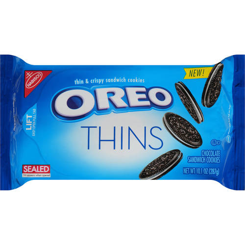 Oreo Thins Cookies, 10.1 Oz