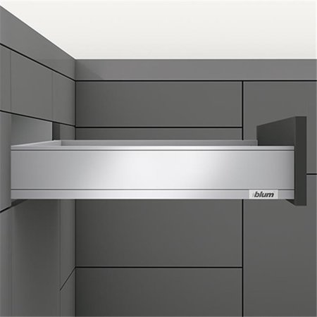 Blum B770M3502I SS Legra M-Height Drawer Profile, Stainless Steel - 14 in. - image 1 de 1
