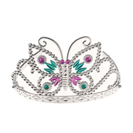 Us Toy - Butterfly Tiara, Made of Plastic, Approximately 5