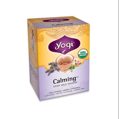 Calming Tea Organic Yogi Teas 16 Bag