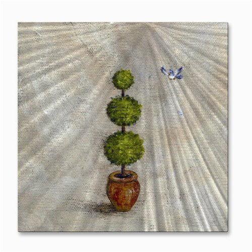 All My Walls Topiary Tree By Frances Gillotti Painting Walmart Com Walmart Com