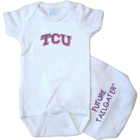 Texas Christian TCU Horned Frog Future Tailgater Baby Onesie