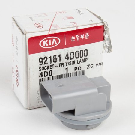Genuine OEM Kia Turn Signal Lamp Socket (Front) for Sedona, Rio 92161-4D000