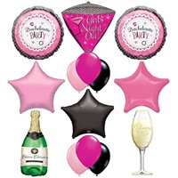 "Bachelorette Party Supplies ""Girls Night Out Champagne Celebration"""