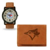 Toronto Blue Jays Watch & Wallet Gift Set - No Size