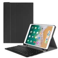 Fintie 10.5-inch iPad Air (3rd Gen) 2019 / iPad Pro 2017 Keyboard Case Cover with Apple Pencil Holder, Black
