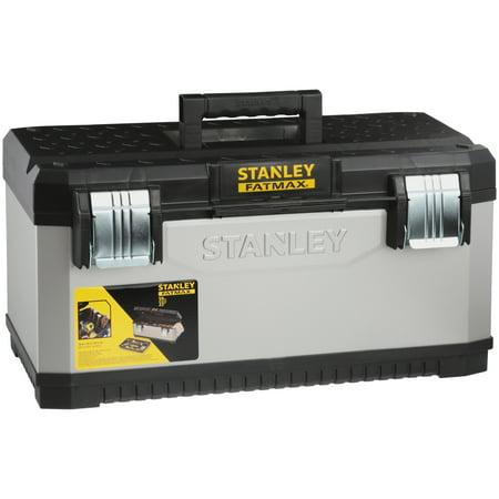 Stanley® FatMax® Grey Metal Plastic Tool Box (Stanley Fatmax Toolbox)