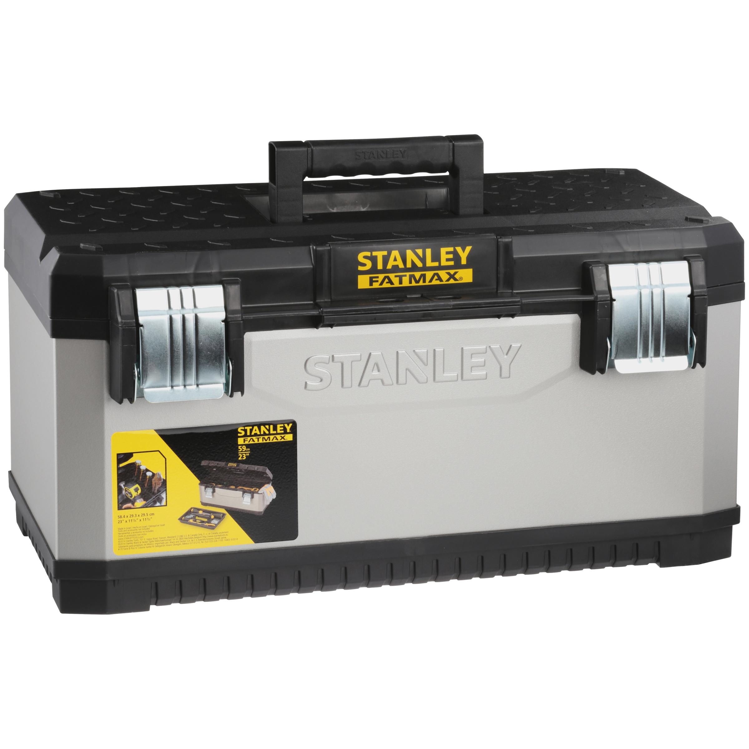 Stanley® FatMax® Grey Metal Plastic Tool Box