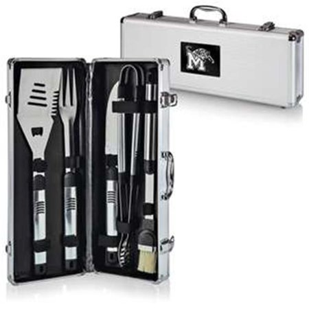 Picnic Time 681-00-179-753-0 University of Memphis Tigers Engraved Fiero BBQ Tools & Carry Case, Black - image 1 of 1