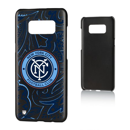 New York City FC NYCFC Paisley Slim Case for Galaxy S8