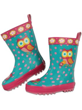 2d8d927d3a2a Product Image Stephen Joseph All Over Print Owl Rain Boot