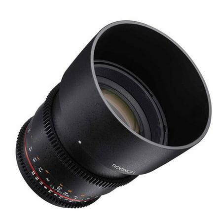 Rokinon 85mm T1.5 Cine DS Lens for Nikon F Mount (Nikon F Mount Lenses)