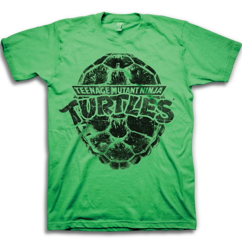 Teenage Mutant Ninja Turtles Logo Mens Green T-Shirt | 2XL