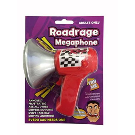 Road Rage Megaphone Adults Only!!! Multi-Colored