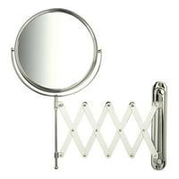 7X-1X Wall Mirror, Chrome