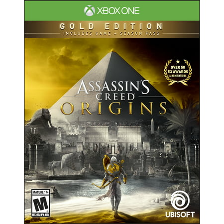 Assassin's Creed: Origins Steelbook Gold Edition, Ubisoft, Xbox One, 887256028541 - Assassin Creed Suits