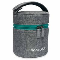 Nanobebe Baby Bottle Cooler & Travel Pack