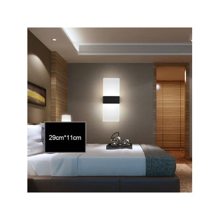 Topumt Fashion LED Wall Lamp Wall Lamp Spotlight Floodlight Bedroom Effect Lamp Home Decor New ()