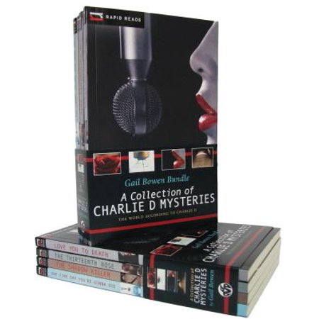 A Collection Of Charlie D Mysteries Love You To Death border=