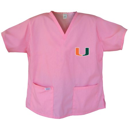 University of Miami Scrubs Miami Canes Tops and Shirts for Women