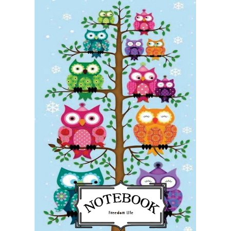 Mini Lined Journal (Notebook: Cute Owls Vol.6: Notebook Journal Diary, 120 Lined Pages, 7