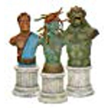 CLASH OF THE TITANS BUST 3 PACK COMIC CON