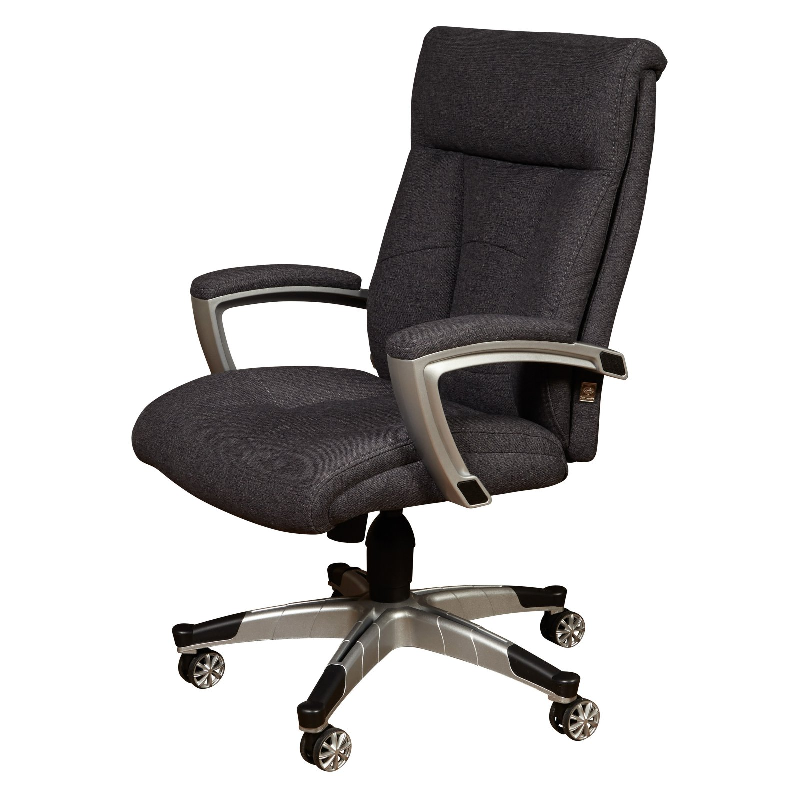 Merveilleux Sealy Posturepedic Office Chair Fabric Cool Foam Chair, Grey