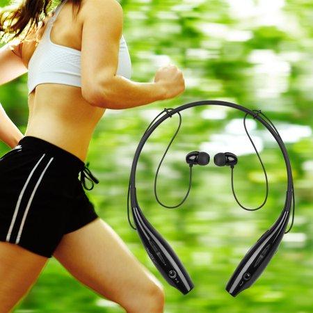 Handsfree Bluetooth Headset Wireless Sports Stereo Headphone Waterproof Earphones For iPhone Samsung White - image 8 of 8