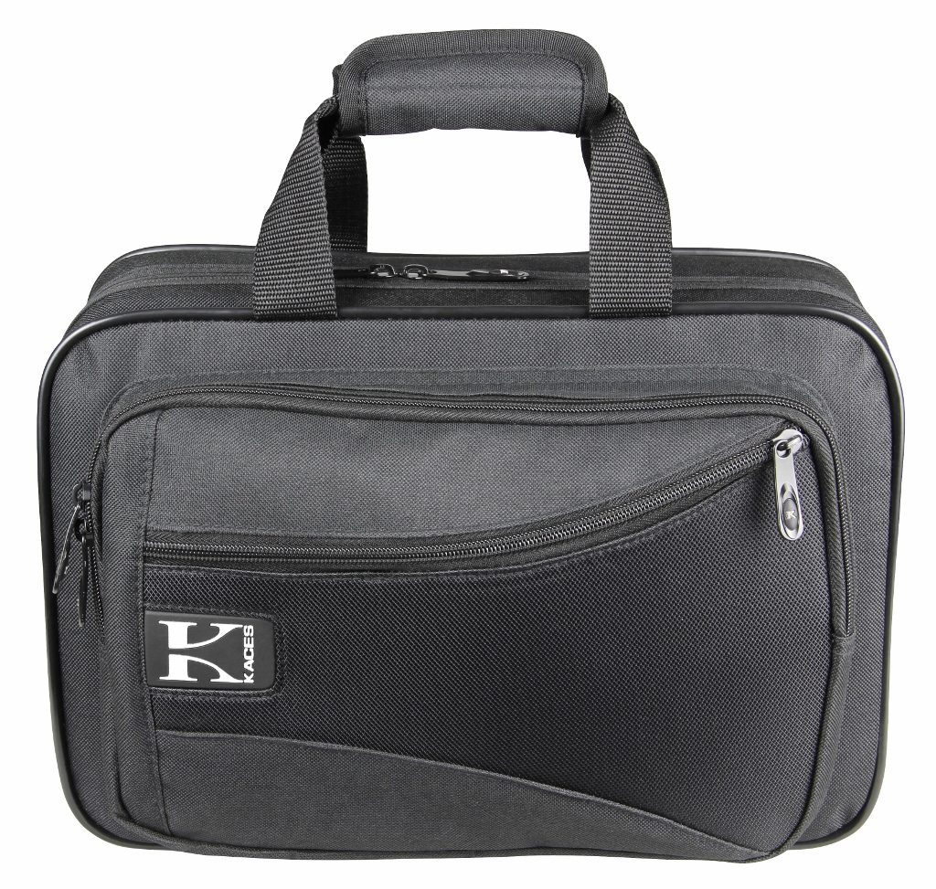 Kaces KBO-CLBK Lightweight Hardshell Clarinet Case, Black by Kaces