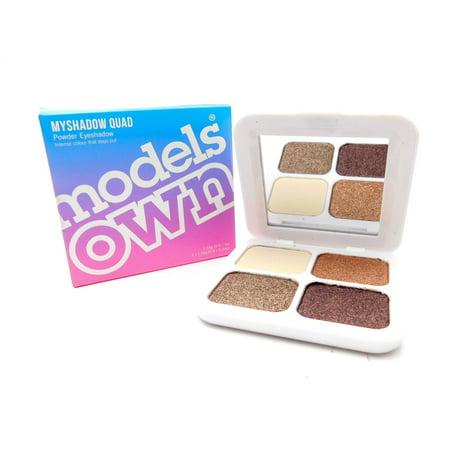 Models Own Myshadow Quad Powder Eyeshadow: Chocolate Mynx 03 (Best Of Tiffany Mynx)