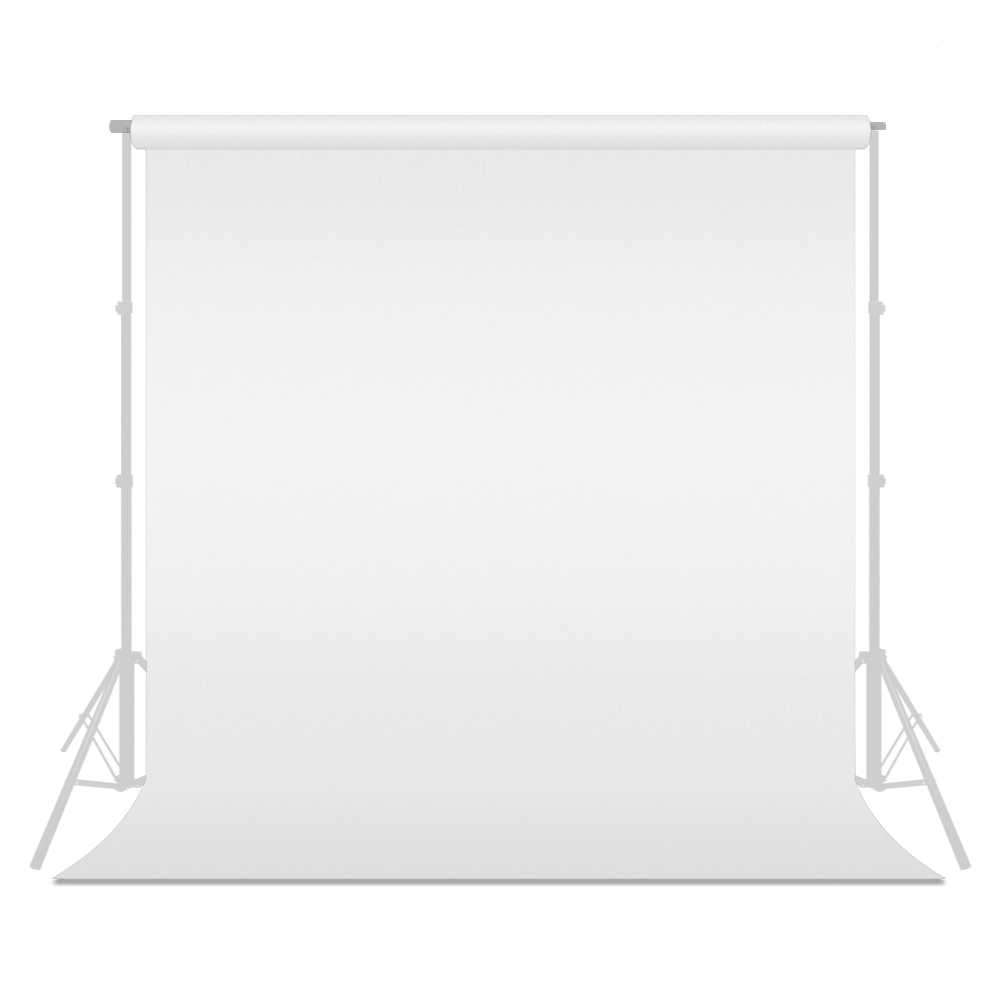 Loadstone Studio Photo Video Photography Studio 9x13ft White Fabricated Backdrop Background Screen, WMLS1662