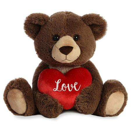 Crazy For You Bear 12 inch - Teddy Bear by Aurora Plush (07963) (Crazy Vermont Teddy Bear)