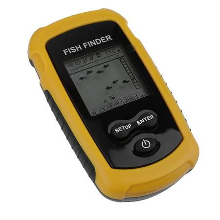 100m Depth Fish Finder Detector Portable River Lake Sonar Fishing Sensor Alarm