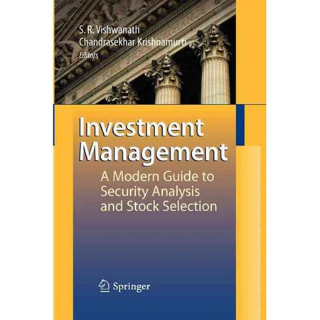 Investment Management  A Modern Guide To Security Analysis And Stock Selection