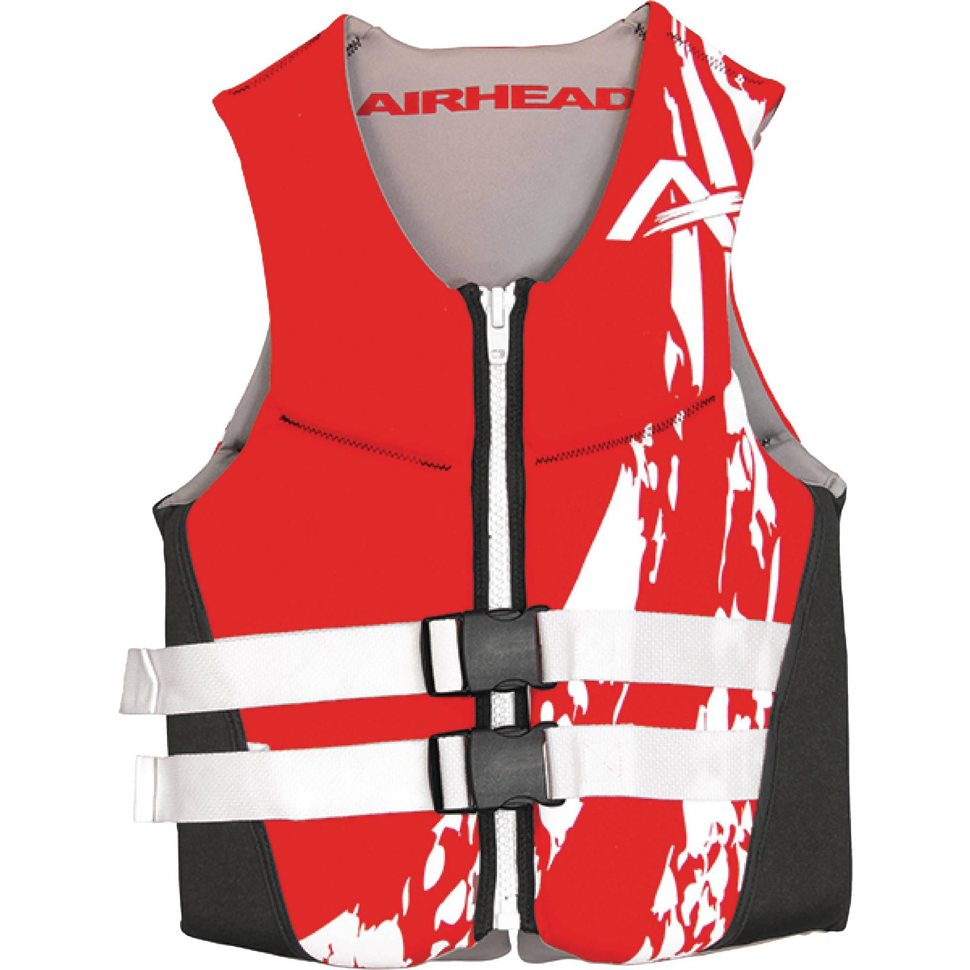Airhead Type III Neolite Swoosh Men's Life Vest, Red