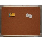 Crestline 102-A 18 in. x 24 in. Aluminum Framed Cork Board