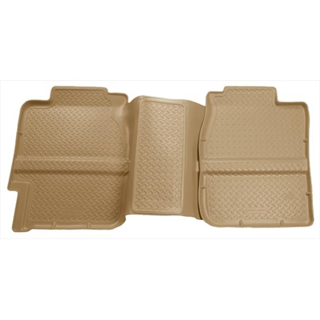 Classic Style Series Thermoplastic Elastomer Tan 2Nd Seat Floor Liner