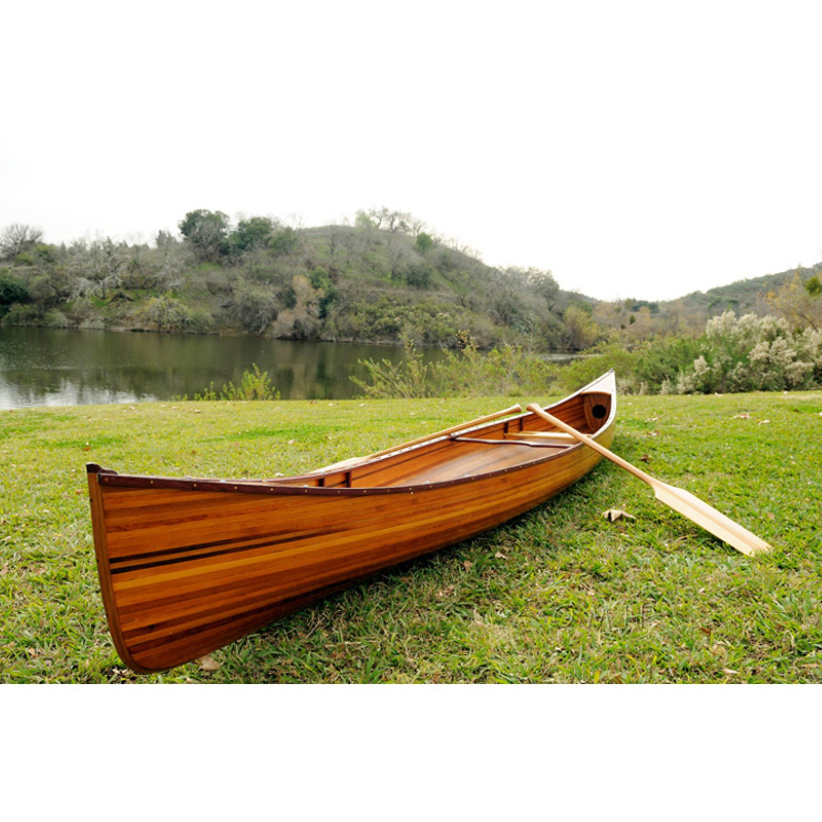 Old Modern Handicraft 16 ft. Real Canoe