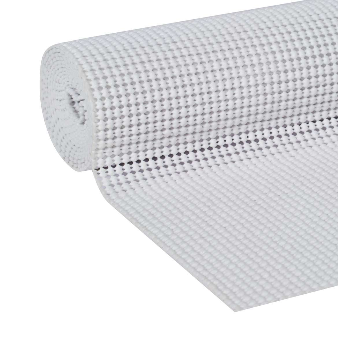 Duck Select Grip Easy Liner with Clorox 20 In. x 6 Ft. Shelf Liner, White