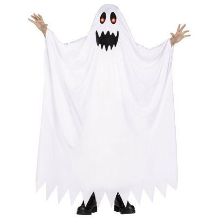 Morris Costumes Kids Unisex Fade In/Out Ghost Costume White 8-10, Style (20's Style Costumes)