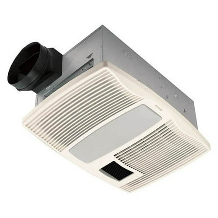 Broan Nutone Qtx110hl Ultra Silent Bathroom Heat Fan Light Night